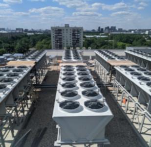 Cines Sofía (Moscú) – Instalación dry coolers, Rusia 2021, destacada